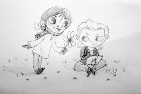 Michaelangelo and Gabriel by Alissa Mariet (huntersandangels.storenvy.com)